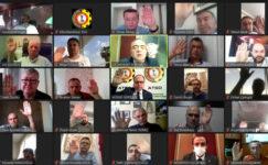 ATSO Meclisi video konferans aracılığıyla toplandı