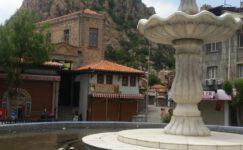 Şehir merkezinde tarihi görüntüler