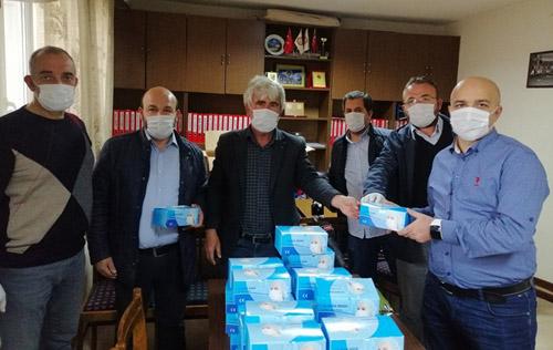 Kulüpler maskelerini ASKF'den alıyor