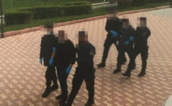 Rögar kapaklarını çalan  4 şüpheliden 2'si yakalandı