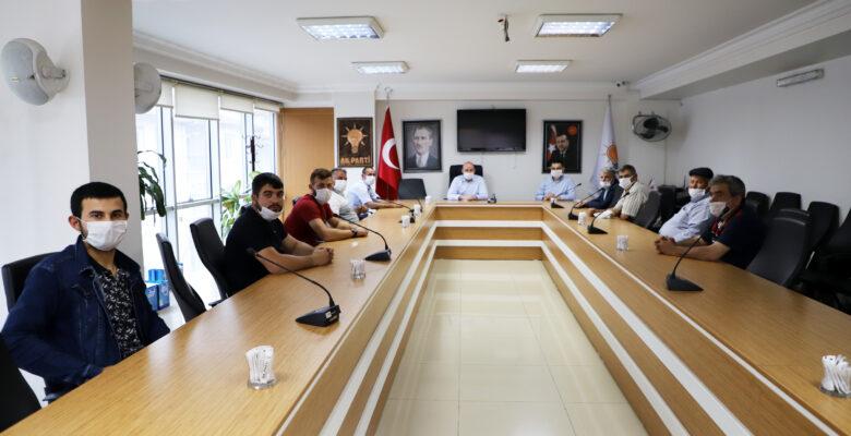 Saraydüzü heyetinden Başkan Sezen'e teşekkür ziyareti
