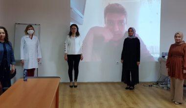 AFSÜ'de uzaktan eğitim dersleri ve uzmanlık tez savunmaları devam ediyor