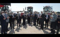 Özel İdare'ye alınan 23 araçtan 13'ü törenle teslim alındı