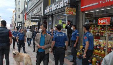 Esnaf kavgası polisi ayağa kaldırdı