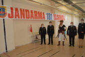 Jandarma 181. yılında ok saldı