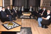 Milletvekillerinden Başkan Zeybek'e ziyaret
