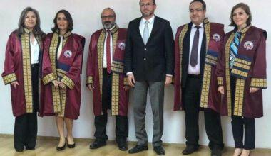 Rektör Okumuş, ünvanda yükselen akademisyenleri tebrik etti