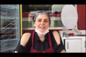 Afyon'un geleneksel sucuk tadı Eskişehir'in çi böreğiyle buluştu