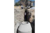 İçme suyu ve kanalizasyon hattı çalışması tamamlandı