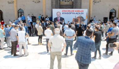 """""""Ayasofya ve Paşa Camii ile  büyük bir yükten kurtulduk"""""""