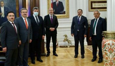 Afyon heyeti Ankara'dan heybesi dolu döndü