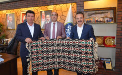 Başkan Çöl, mevkidaşları ile istişarede bulundu