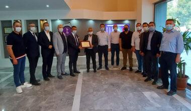 Başkan Zeybek'ten AFSİAD'a iade-i ziyaret