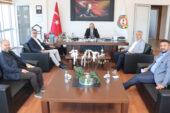 Korkuteli Mermer OSB'den  Başkan Serteser'e ziyaret