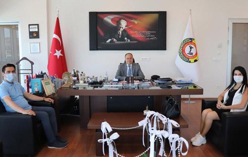 İSTEK Afyon Okulları'ndan ATSOBaşkanı Serteser'e ziyaret