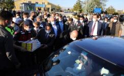 Bakan Soylu, Afyonkarahisar'da TRAFİK DENETİMİNE KATILDI