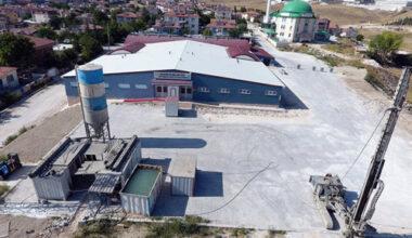 """Jeotermal kaplıca tesisi  """"jet grout"""" ile güçlendirilecek"""