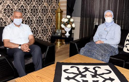 Ramazanoğlu'ndan Başkan Zeybek'e ziyaret