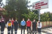 Sağlık yöneticileri 112 istasyonlarını inceledi