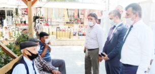 Vali Yardımcısı Kaya, Emirdağ'da incelemelerde bulundu