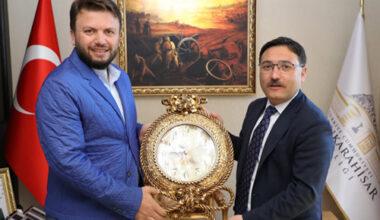Vali Çiçek'e TÜRSAB Dumlupınar'dan tam destek