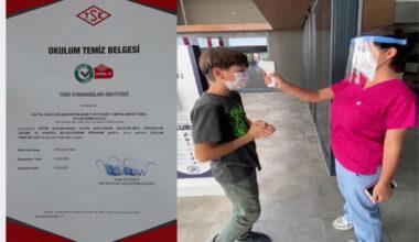 Özel Afyon Girne Koleji Öğrencileri için tüm tedbirleri aldı