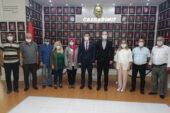 """İYİ Parti Merkez İlçe'den """"hayırlı olsun"""" ziyareti"""