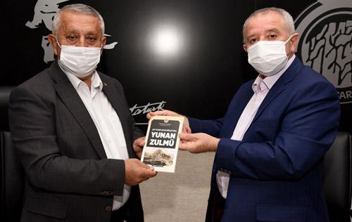 """İlgar, """"Afyonkarahisar'da  Yunan Zulmü""""nü anlattı"""