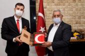 Şehit ve Gaziler Derneği'nden ilk ziyaret Başkan Zeybek'e