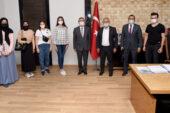 80 genç üniversite hayaline  belediye aracılığı ile ulaştı