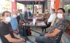 Hisar Gazetesi'ne 17'inci yıl ziyareti