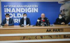 AK Parti Afyonkarahisar İl Başkanı Hüseyin Sezen istifa etti: BAŞKAN OLMAK İÇİN AK PARTİ'Lİ OLMADIK