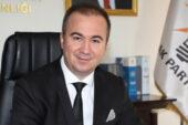 AK Parti il Başkanlığına Uluçay atandı