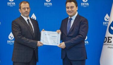 Afyonkarahisar  DEVA'da yönetim kurulu tamam