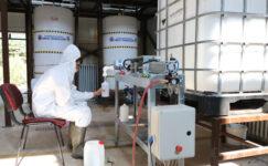 Gazi MTAL öğrencileri  257 ton dezenfektan üretti