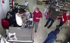 Karantinayı ihlal eden kişi, markette yakalandı