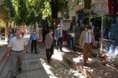 Sandıklı'da pandemi denetlemeleri sürüyor