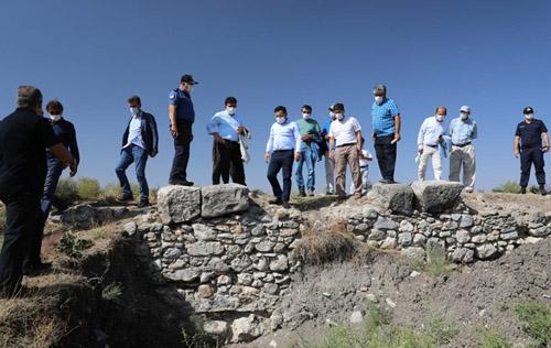 Vali Çiçek, Kırkgöz Köprüsü için harekete geçti
