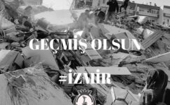 """Geçmiş olsun İzmir"""