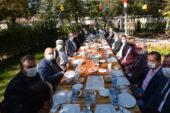 Başkan Mustafa Çöl,  muhtarlarla bir araya geldi