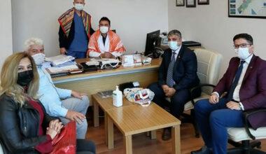 Dernek Başkanları'ndan AFSÜ'ye ziyaret