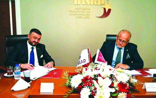 Dostluk ve iş birliği protokolü imzalandı