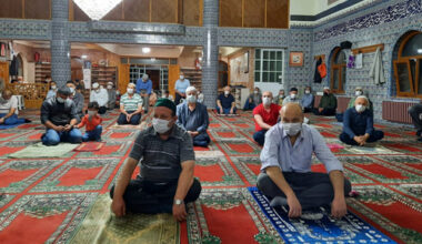 Dumlupınar Camii'nde Kur'an ziyafeti