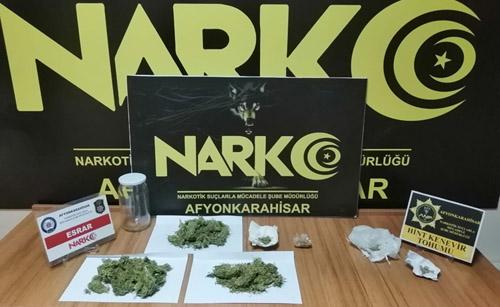 Emniyet'ten  narkotik operasyon