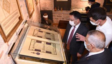 Hat ve Türk İslam Sanatları Galerisi açıldı
