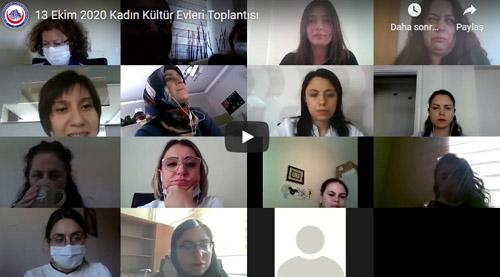 Kadın Kültür Evleri Akademik Çalışma Grubu ilk toplantısını yaptı