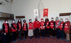 Kızılay gönüllü hanımları bekliyor