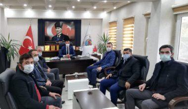MHP Merkez İlçe'den belediyelere ziyaret
