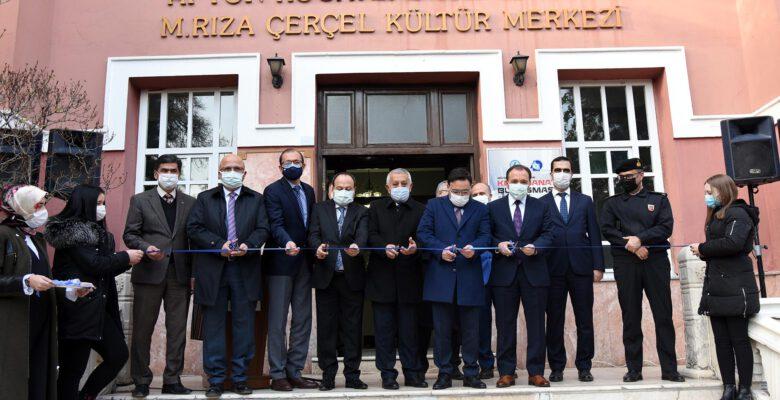 Rıza Çerçel Kültür Merkezi, yenilenen  yüzü ile sanatseverlerin hizmetinde